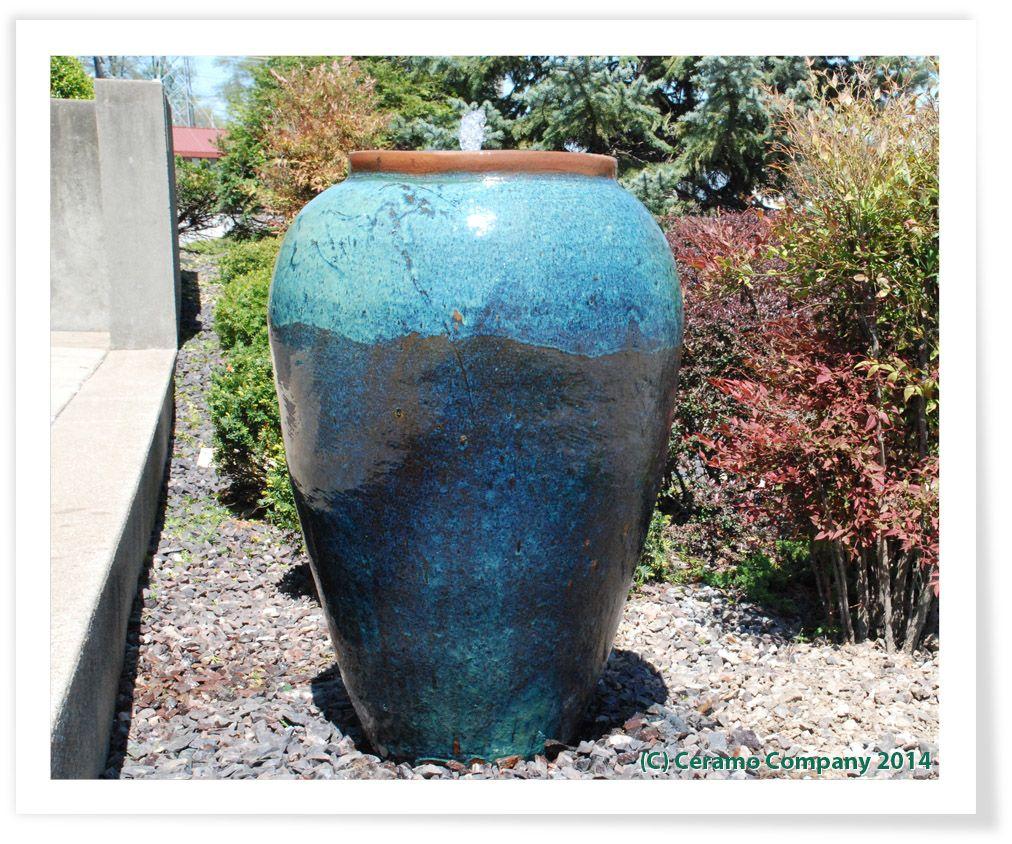 Ceramic Pot Fountains: Good-Looking Large Ceramic Outdoor Plant Pots Ceramic Pots