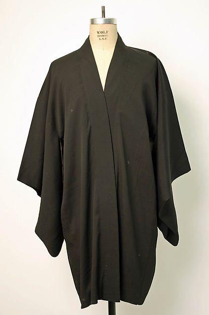 Happi coat Date: early 20th century Culture: Japanese Medium: silk ...