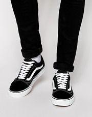 zapatillas vans hombre old school