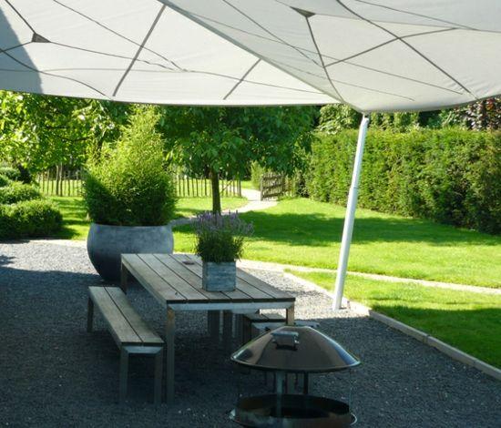 Balkon Sonnensegel - coole Ideen für die heißen Sommertage -