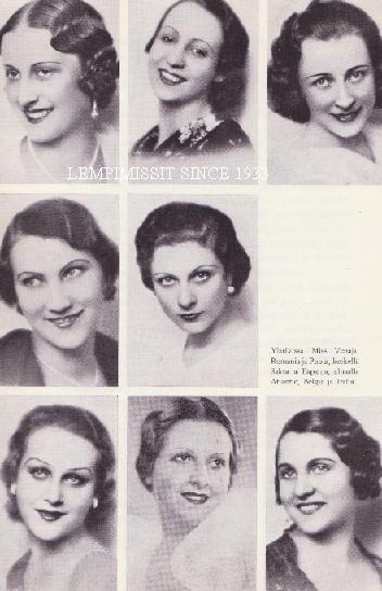 Miss Europa 1934