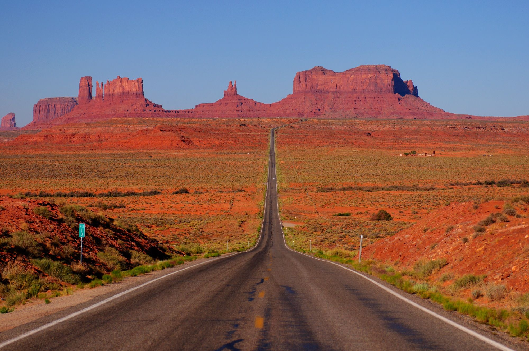 Monument Valley Monument valley, National parks, Valley road