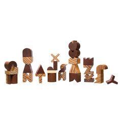 Holzalphabet Buchstaben-Set, 75€, jetzt auf Fab.