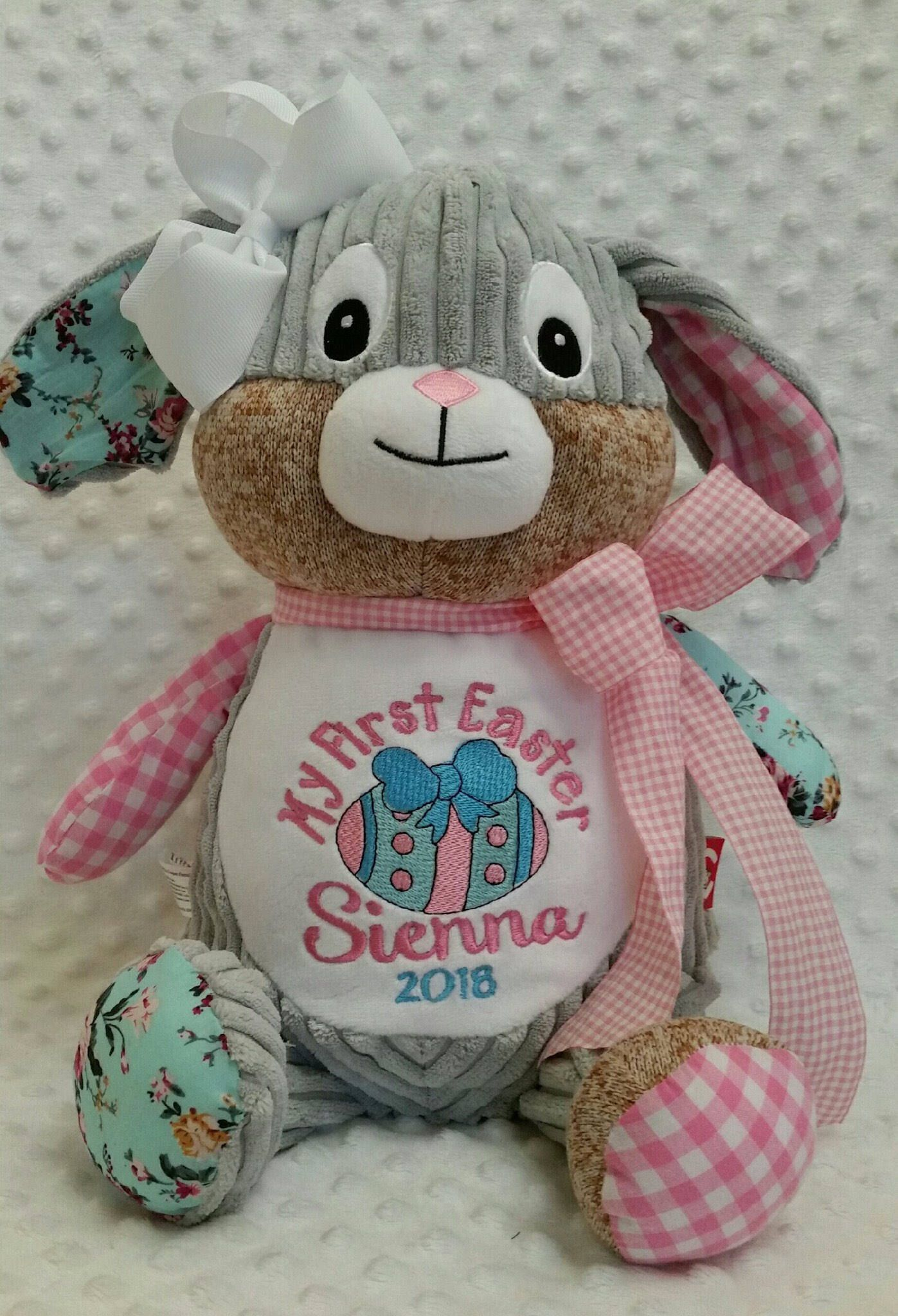 My first easter bunnypersonalizedchristian giftsnewborn excited to share the latest addition to my etsy shop my first easter bunny negle Image collections