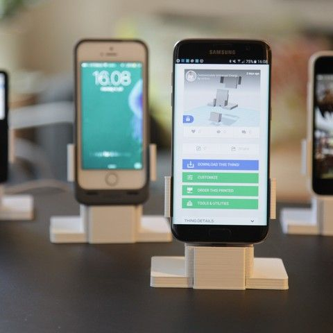 Universal Charging Dock for iPhone and Android 3D file, eirikso