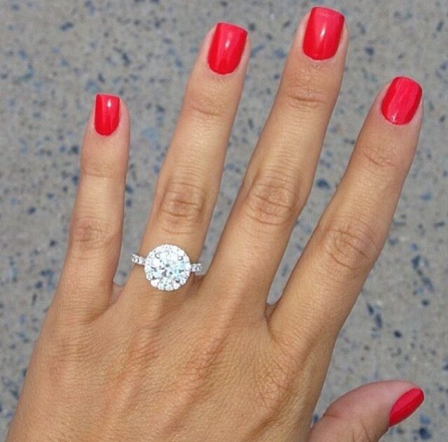 Perfect Nails And Ring