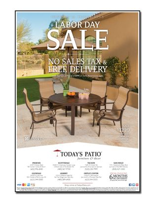 Today S Patio Labor Day Newspaper Ad