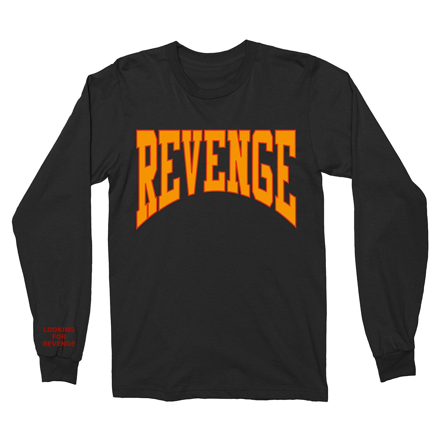 4ba1d1f19de1 Amazon.com  Max Apparel Drake Summer Sixteen Tour Revenge Shirt Long Sleeve  (Small)  Clothing