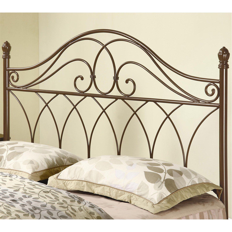 Coaster Furniture 300186QF Full/Queen Metal Headboard in Brown