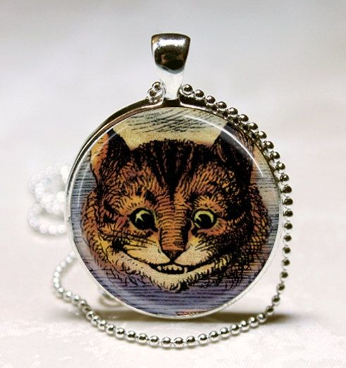 Alice in Wonderland Cheshire Cat Jewellery Charms//Pendants 3 Designs to Choose