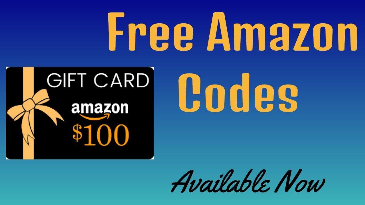 Free amazon codes free amazon products amazon gift card