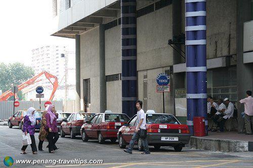 Komtar Bus Terminal Bus Terminal Penang Taxi