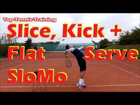Tennis Serve Technique Slow Motion Youtube Tennis Serve Tennis Tennis Lessons