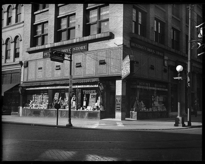 Dentons drug store denton street view drugstore