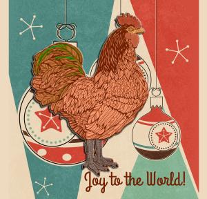 Holiday Bird | by China Rose