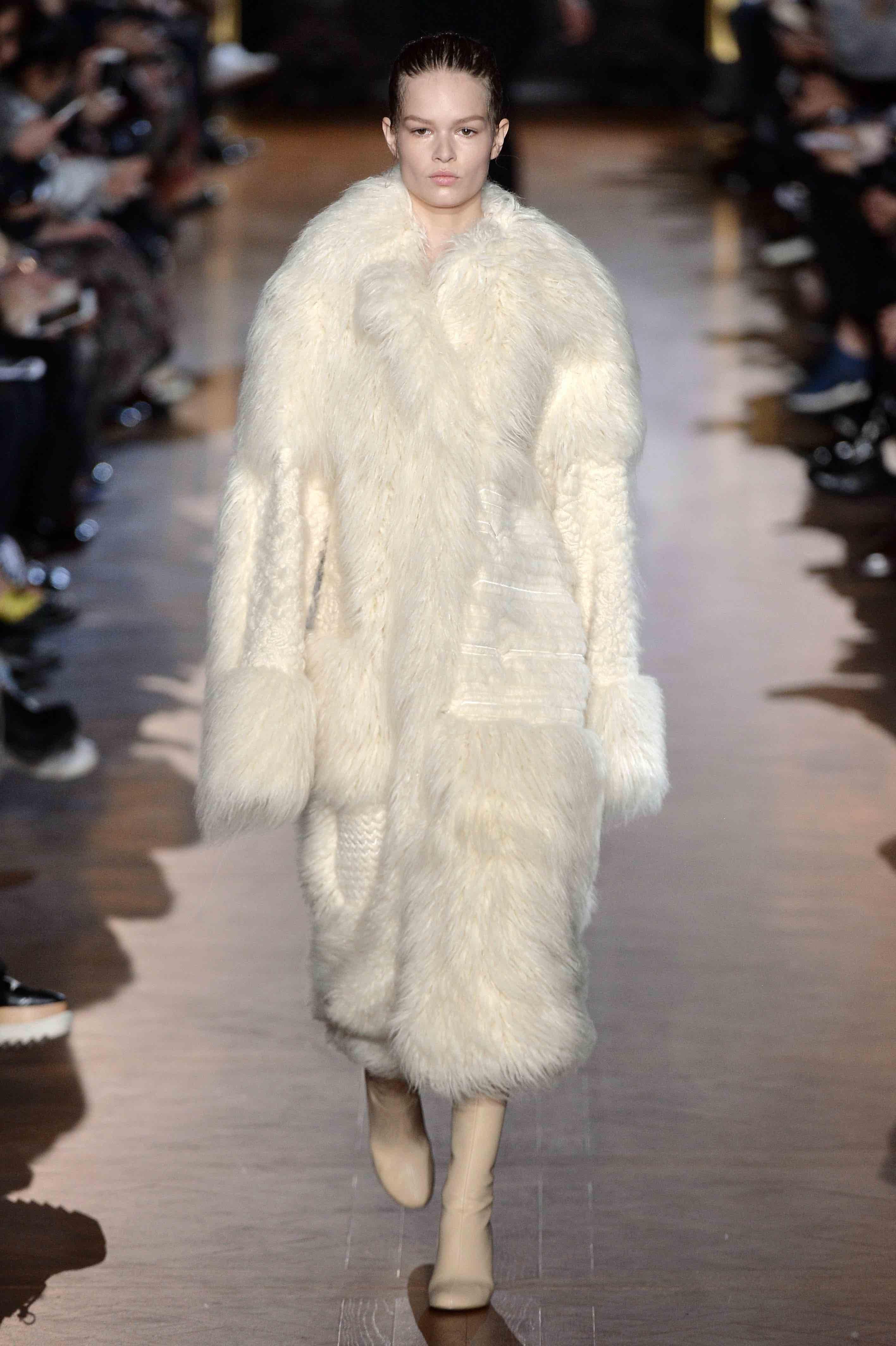 Image result for stella mccartney fur free paris fashion week