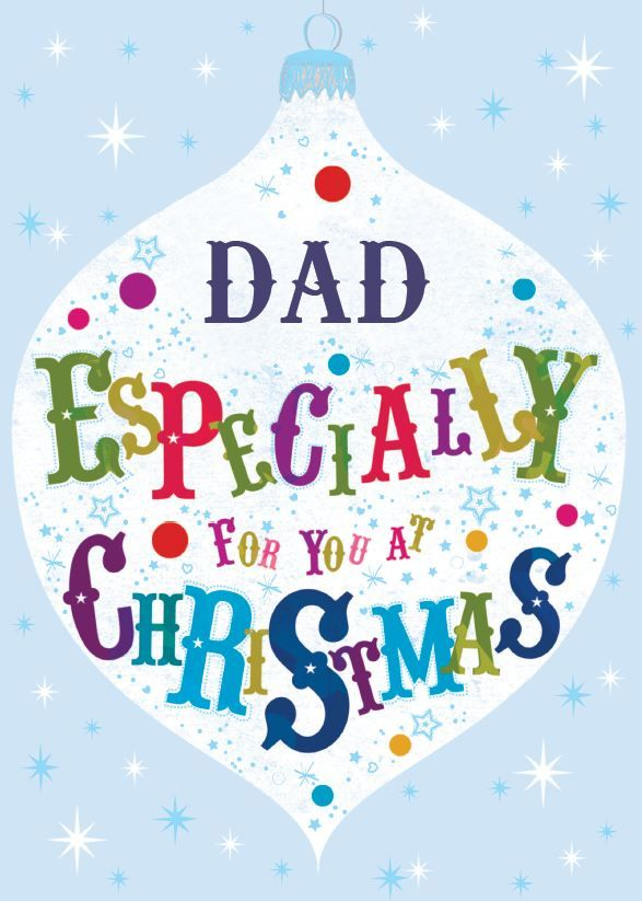 Dad Especially for you at Christmas