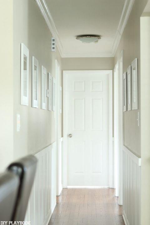 hallway finally. Frames In The Hallway.Finally! - DIY Playbook Hallway Finally A