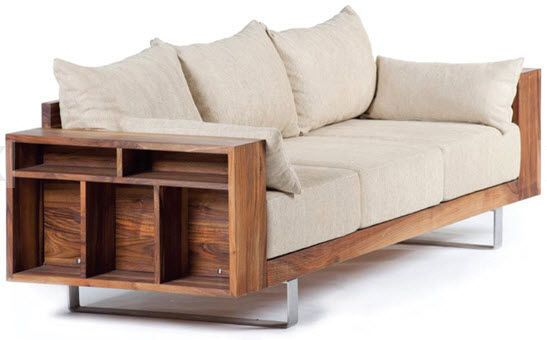 contemporary wooden sofa. | Design and Function | Wooden ...