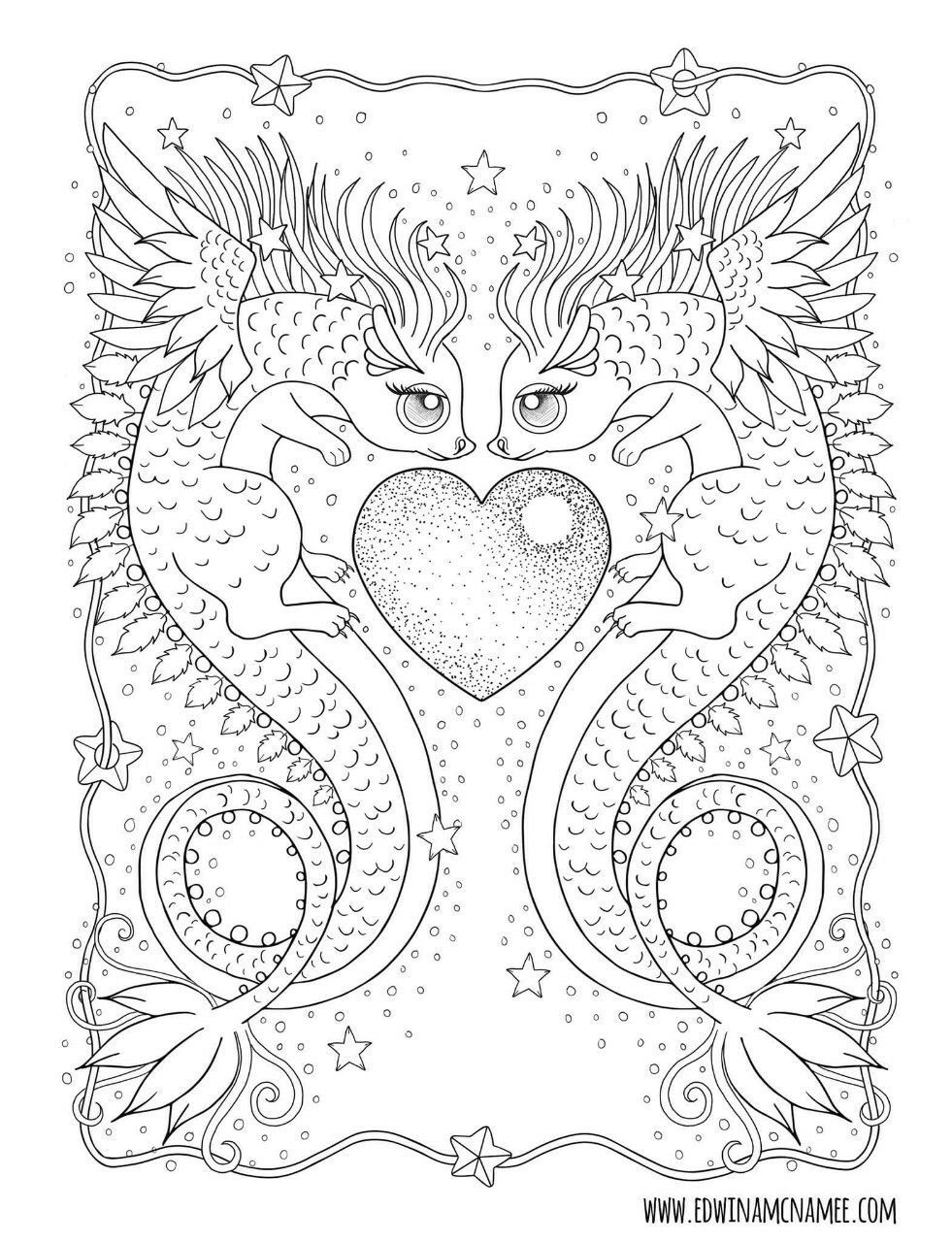 Pin by Vivian M on VM,s Daragon Galleria  Cute coloring pages