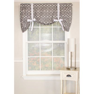 RLF Home Sequence Tie Up 50 Curtain Valance Reviews