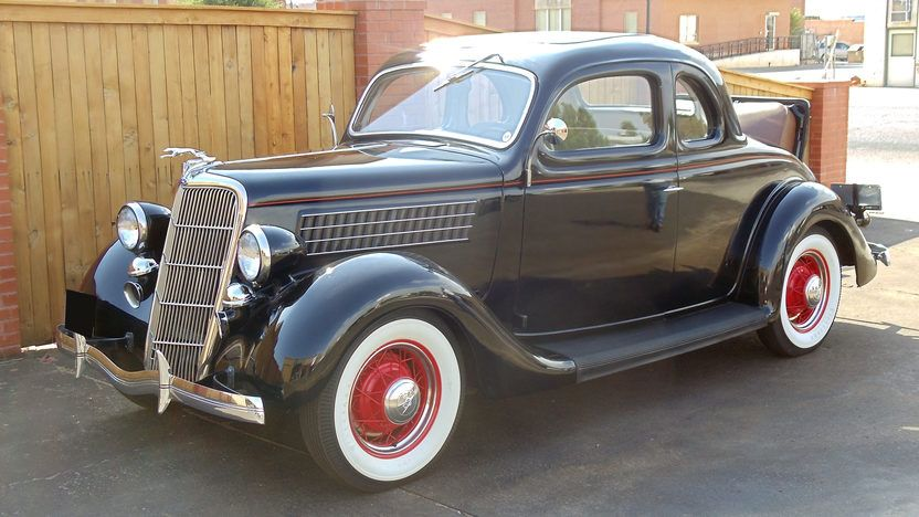 1935 Ford 5 Window Coupe Flathead V8 Coupe, Ford, Dallas