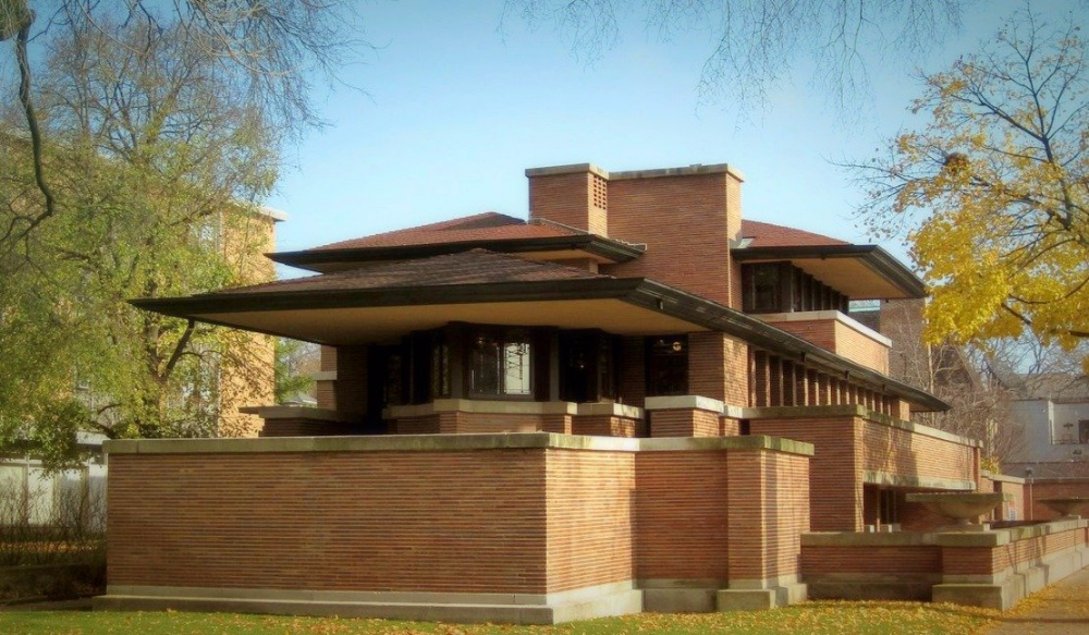 Top 16 Frank Lloyd Wright Houses You Can Tour Incollect Robie House Frank Lloyd Wright Robie House Prairie House