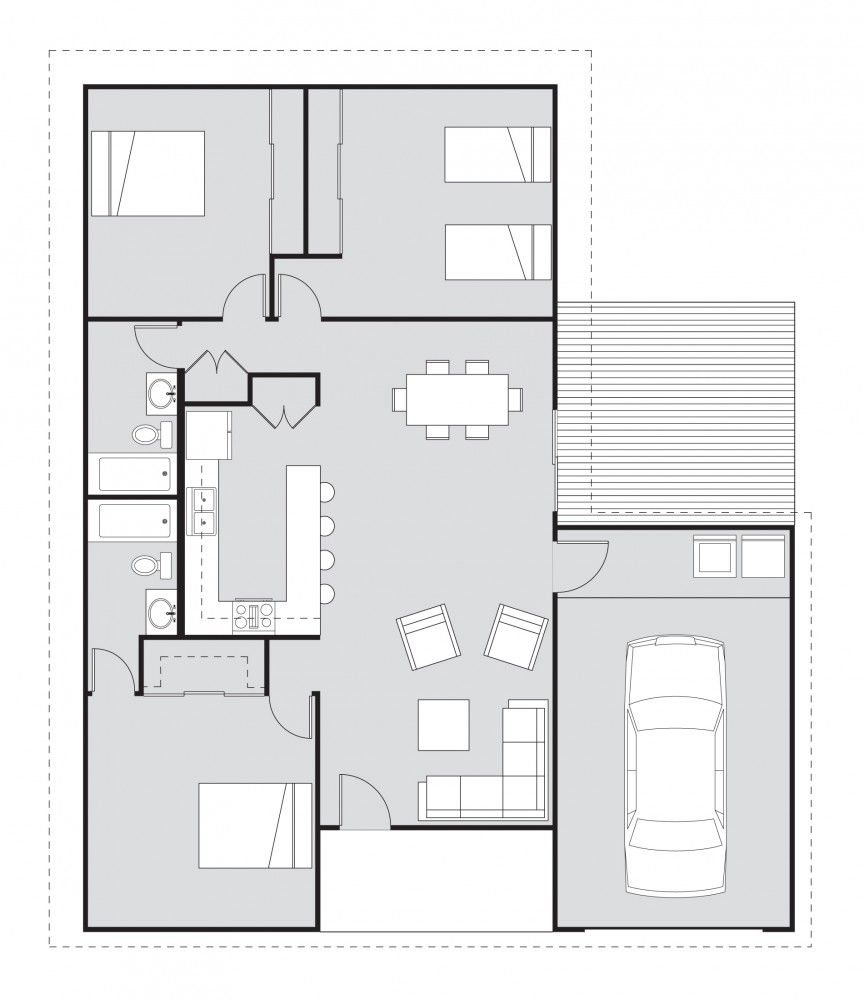 Free Home Plans Habitat For Humanity And Houseplans Student House House Plans Free House Plans