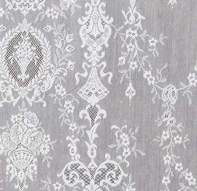 Fine Detail Of One Our Por Victorian Lace Panel Designs Lucynda Curtainsvictorian Lacecotton