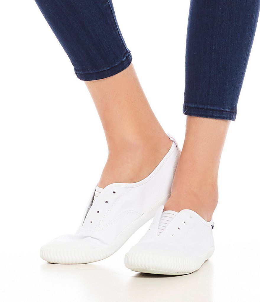 Paul Sperry Sayel Canvas Clew Slip-On