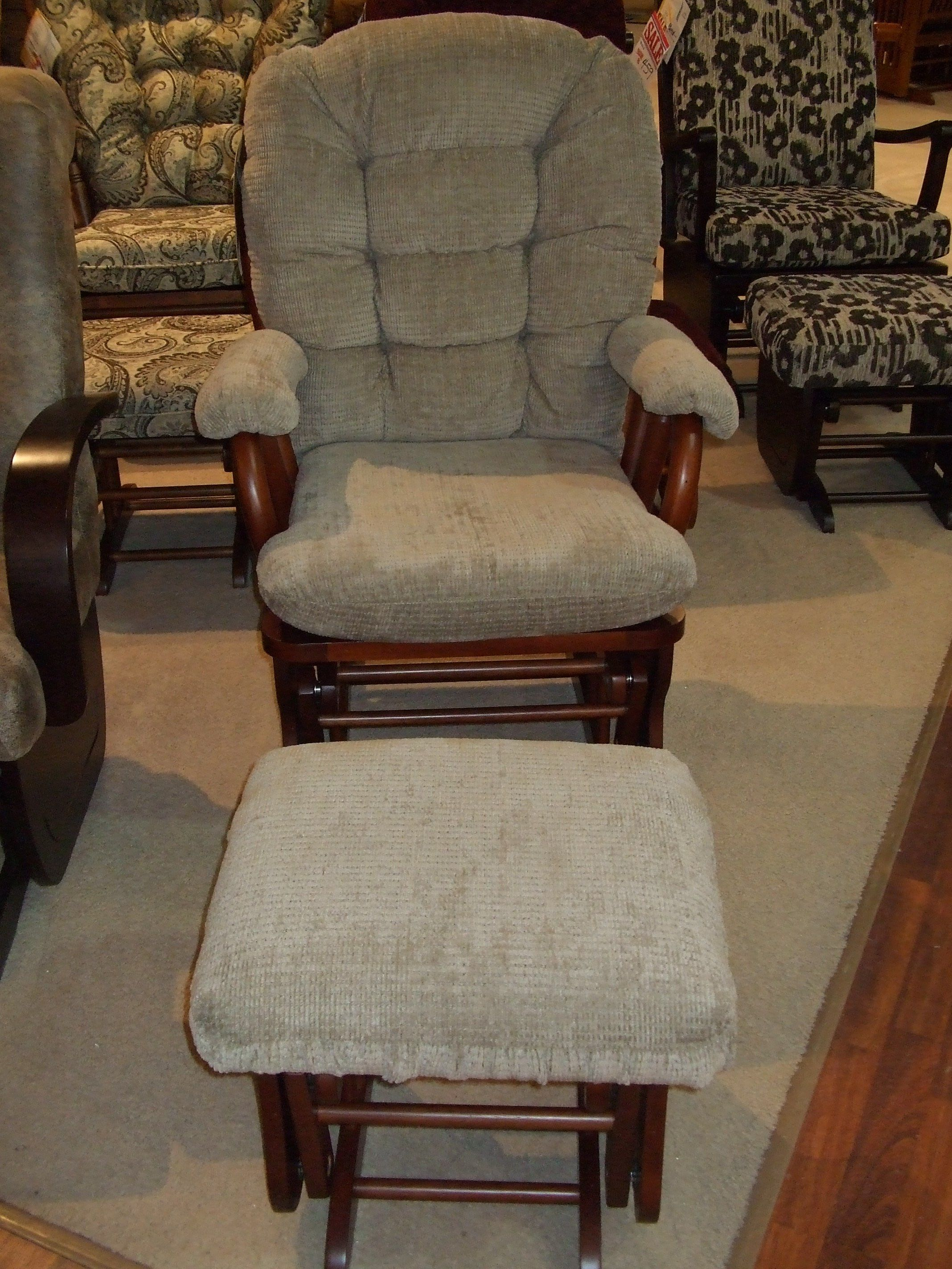 Lansing Furniture: 877 538 4678 Best Home Furnishings Glider And Ottoman Co  Pak