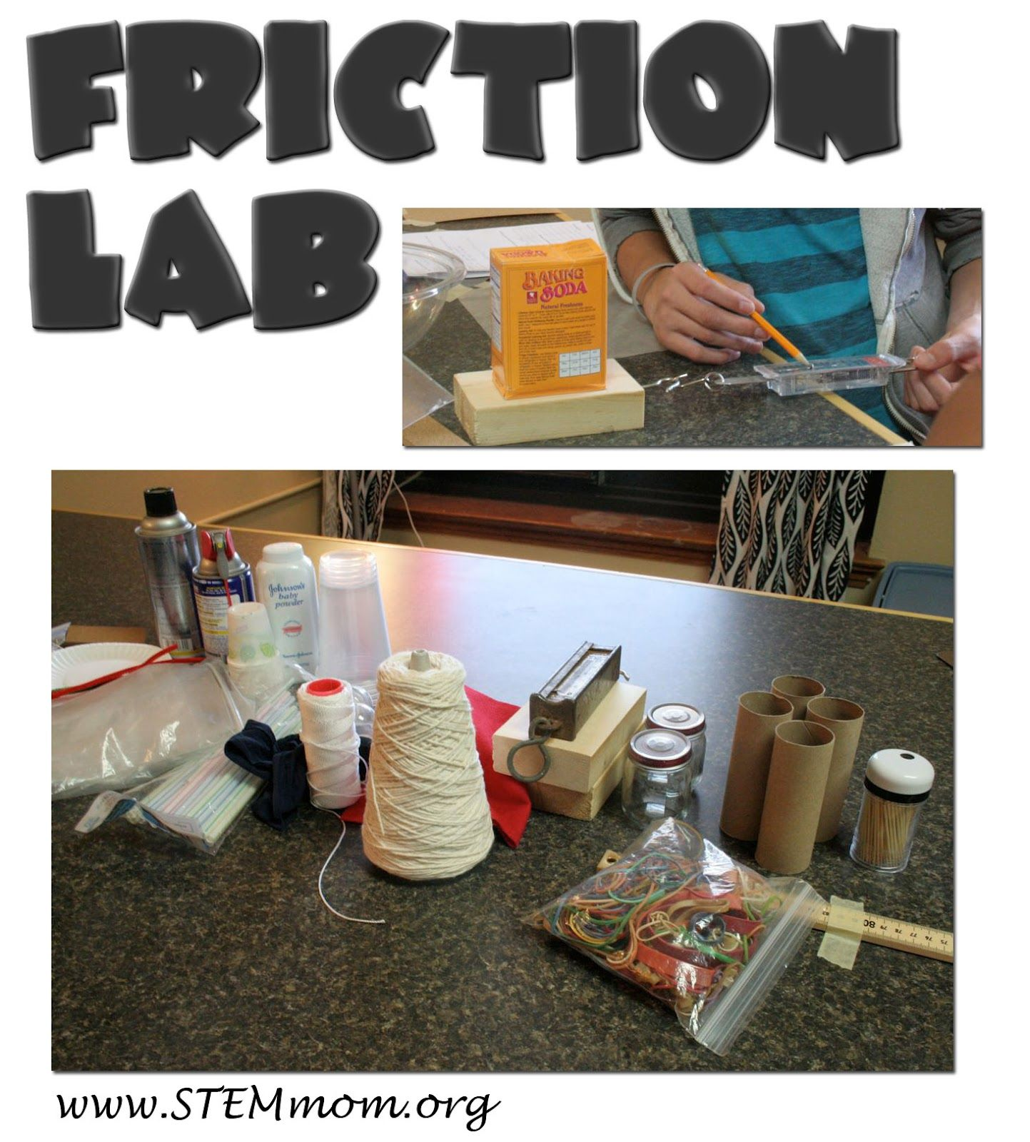 High Level Inquiry Friction Lab Teacher Prep Tips And Student Printable Stemmom