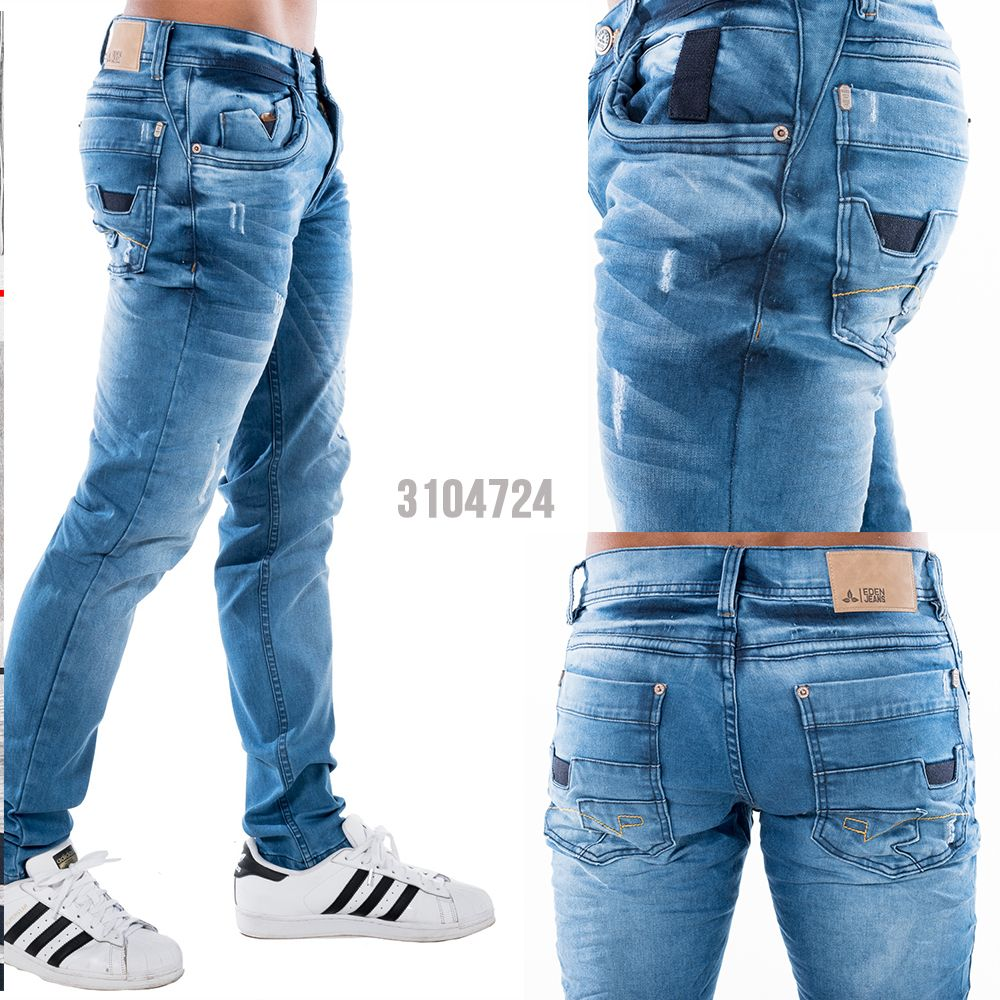 Jean De Tendencia Con Desgastes Lavados Y Bota Tubo Escoge Los Jeans Para Pantalones De Hombre Moda Pantalon De Mezclilla Hombre Pantalones De Hombre Jeans