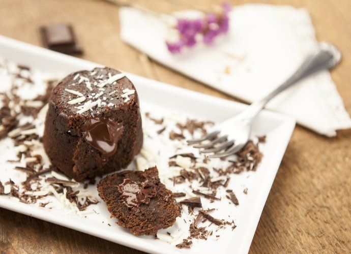Coulant de chocolate para #Mycook http://www.mycook.es/cocina/receta/coulant-de-chocolate