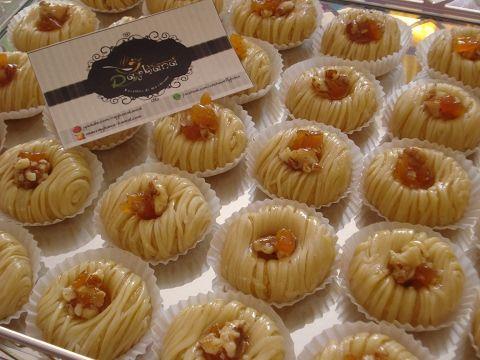 أنت أحلى موسوعة تعليم فن الحلويات حلويات باللوز حلوة باللوز معسلة من شهيوات ريحانة كمال Baking With Almond Flour Arabic Food Desserts