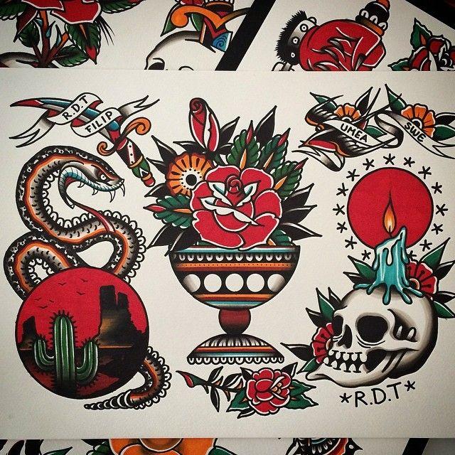 Filip Henningsson Tattoo Traditional Tattoo Art American Traditional Tattoo Traditional Ink