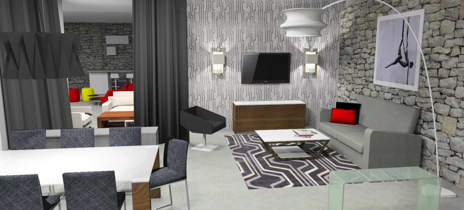 Visualisation 3-D, venez regardez les possibilitées de votre espace avec nous! 3-D rendering, come to figure it out your space with us!  http://boutiquestjames.com/