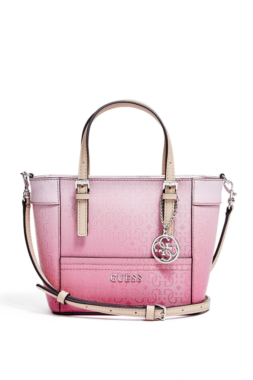 7328aa52bb Delaney Ombre Mini Tote   GUESS.com