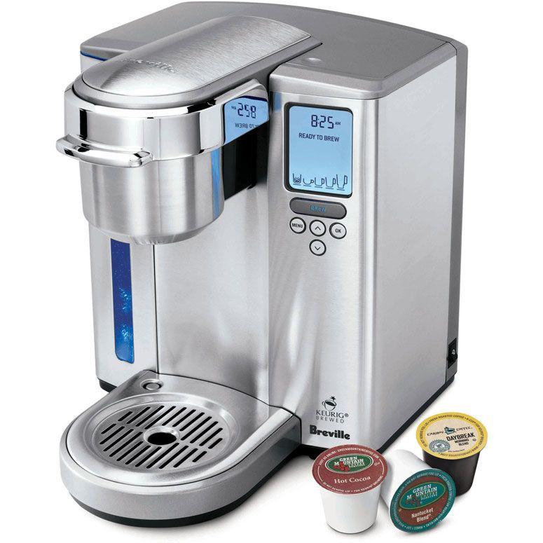Breville keurig gourmet single serve coffee maker