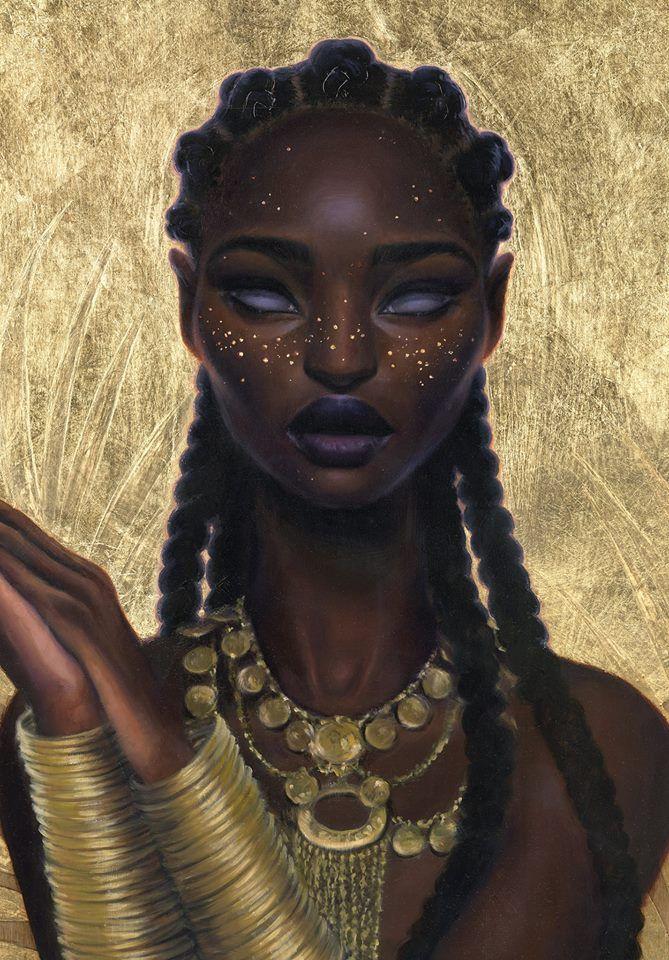 Knightofleo sara k golishcosmic stardust atlantis for Black african queen tattoos