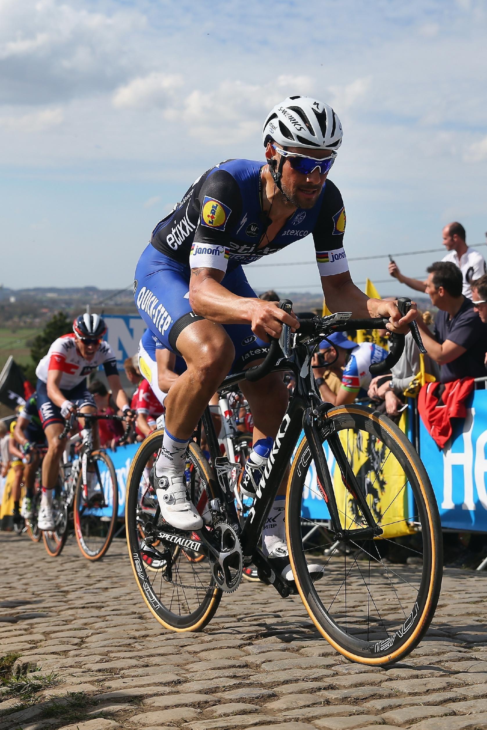 Tom Boonen Of Belgium Rides And Etixx Quickstep Rides Up The
