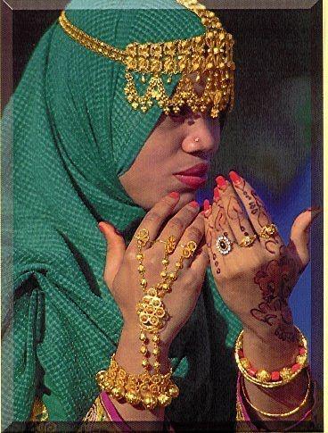 arabic headdress for women | Adventures of a Muscat-teer!