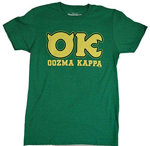 Disney Monsters University OK Oozma Kappa Member Green T-shirt (Medium, Green) Disney http://www.amazon.com/dp/B00KZ0CKYY/ref=cm_sw_r_pi_dp_JD.uvb0KA3AES