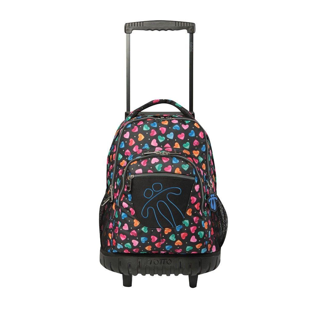 0E2 es el modelo de esta magnifica mochila Totto con ruedas se puede ...