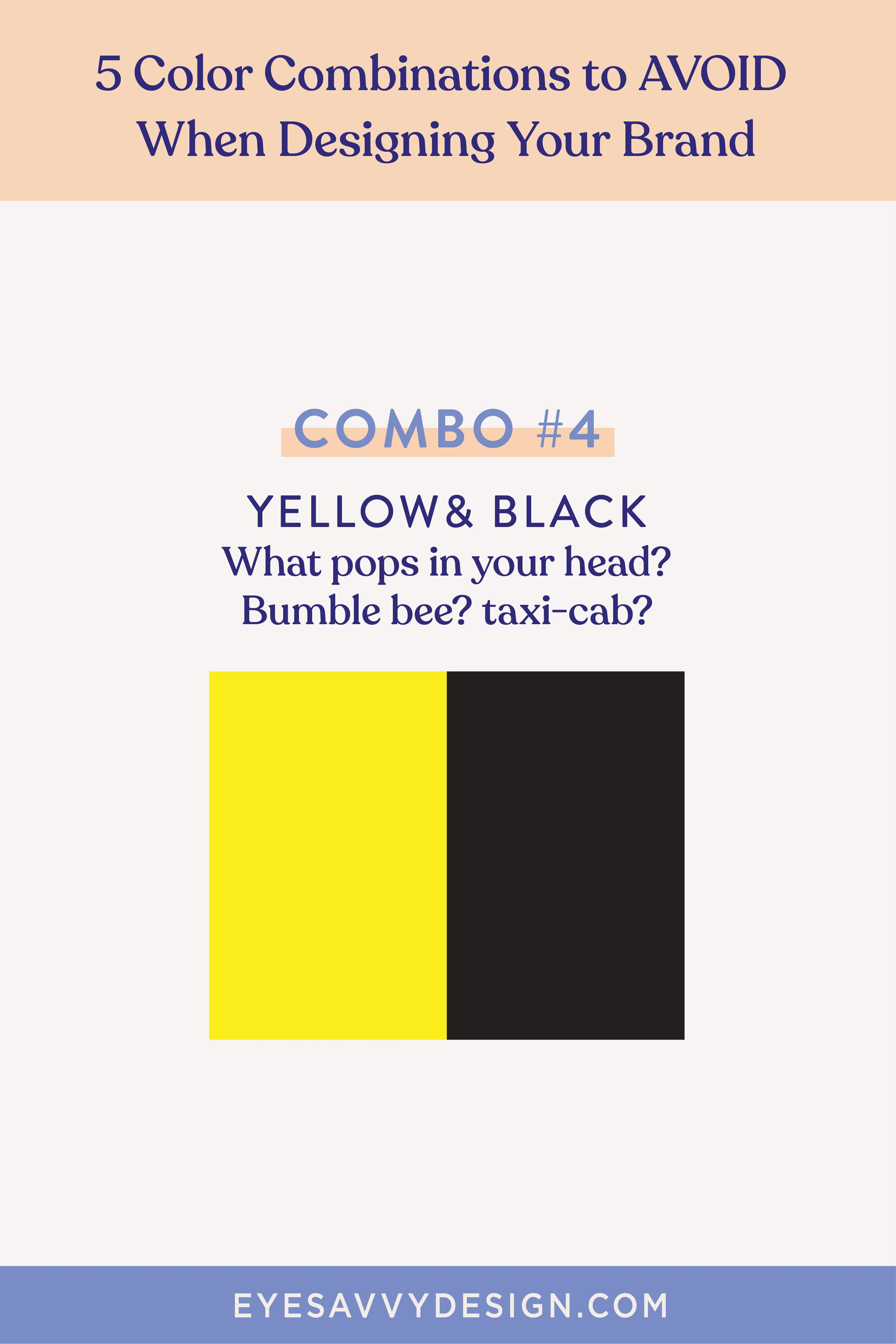 5 Color Combinations To Avoid When Designing Your Brand Build