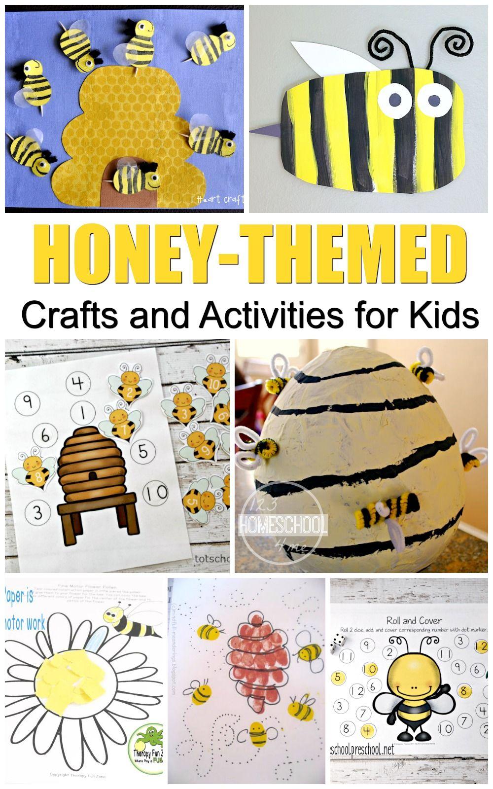 medium resolution of National Honey Bee Day Activities   Bee activities
