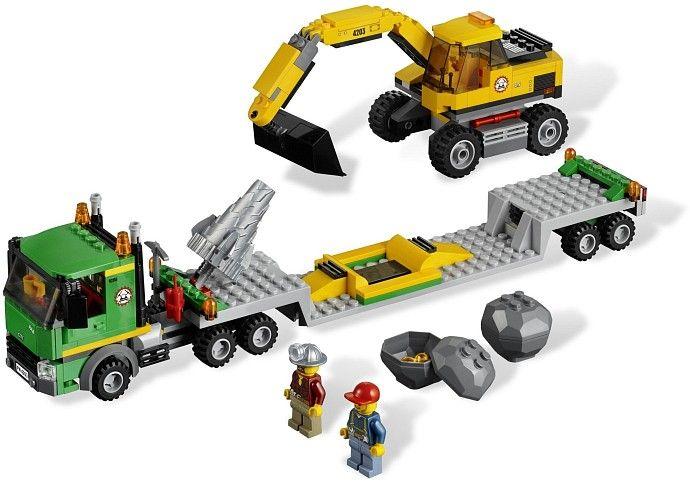 4203 1 Excavator Transporter Atticus Toys Lego Lego City Lego