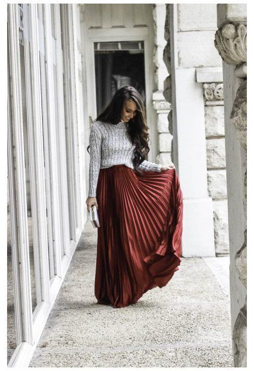 Winter Outfit – Sweater and Pleated Maxi Skirt Under $30 – Sunshine & Stilettos Blog (Instagram: Katlyn Miller Winter Outfit – Sweater and Pleated Maxi Skirt Under $30 – Sunshine & Stilettos Blog (Instagram: Katlyn Maupin) Austin, TX Blogger  - Winter Outfit - Sweater and Pleated Maxi Skirt Under $30 - Sunshine & Stilettos Blog (Instagram: @katlynm #skirtoutfit