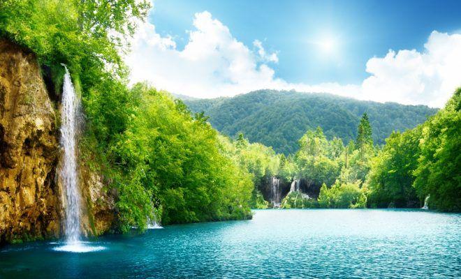 Best Nature Hd Wallpapers 1080p Cascate D Acqua Natura Carta Da Parati Natura