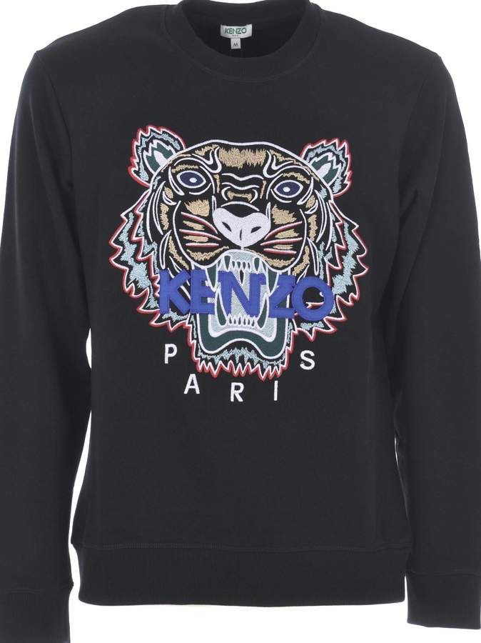4e11ae88 Kenzo Tiger Embroidered Sweatshirt | Products | Embroidered ...
